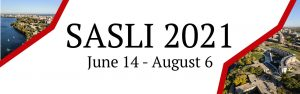 SASLI Summer 2021 dates, June 14th to August 6th